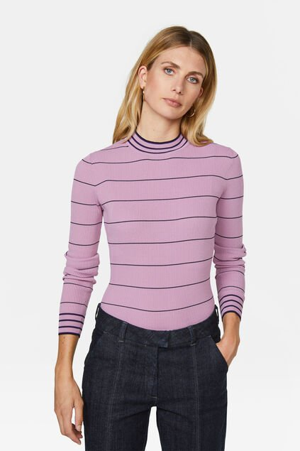 Pull femme Vieux rose