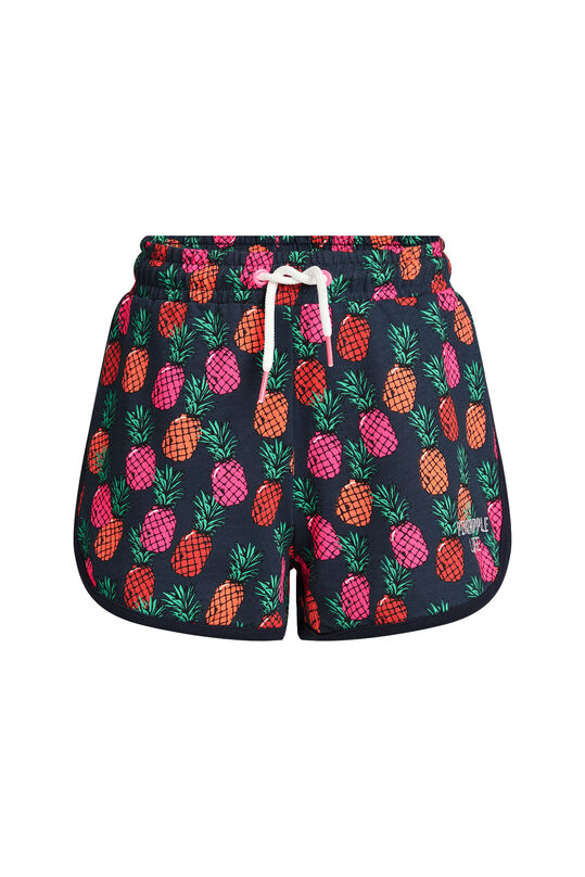 Short sweat à motif ananas fille Multicolore
