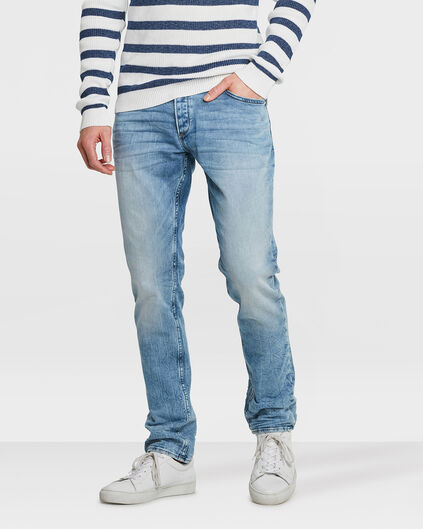 JOG DENIM SLIM TAPERED HOMME Bleu eclair