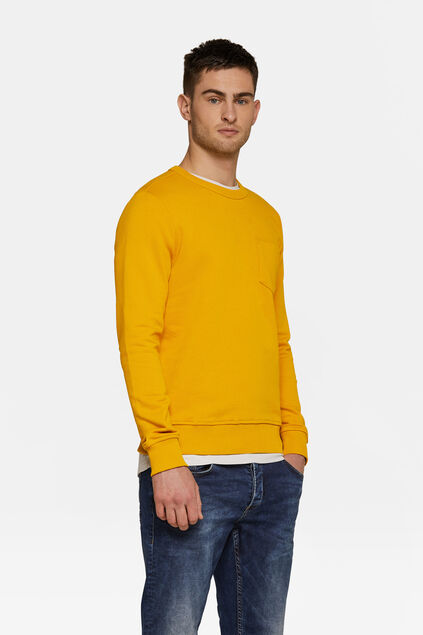 Sweat-shirt homme Jaune