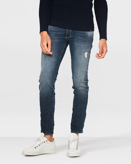 JEANS SKINNY TAPPERED 360º STRETCH HOMME Bleu