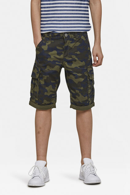 Short regular fit garçon Vert