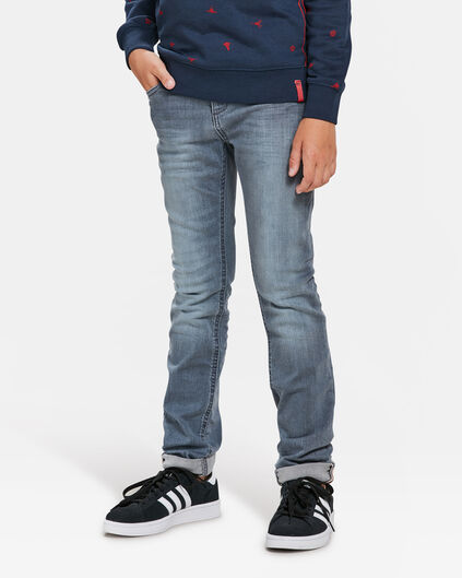 JEANS SKINNY POWER STRETCH GARÇON Bleu gris