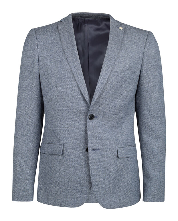 BLAZER SLIM FIT YORK HOMME Bleu