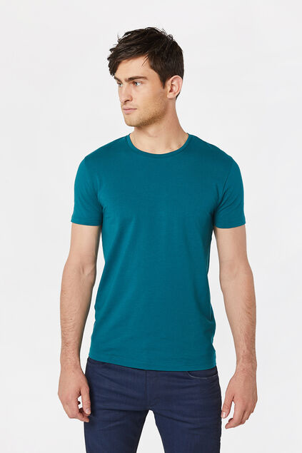 T-shirt homme Turquoise