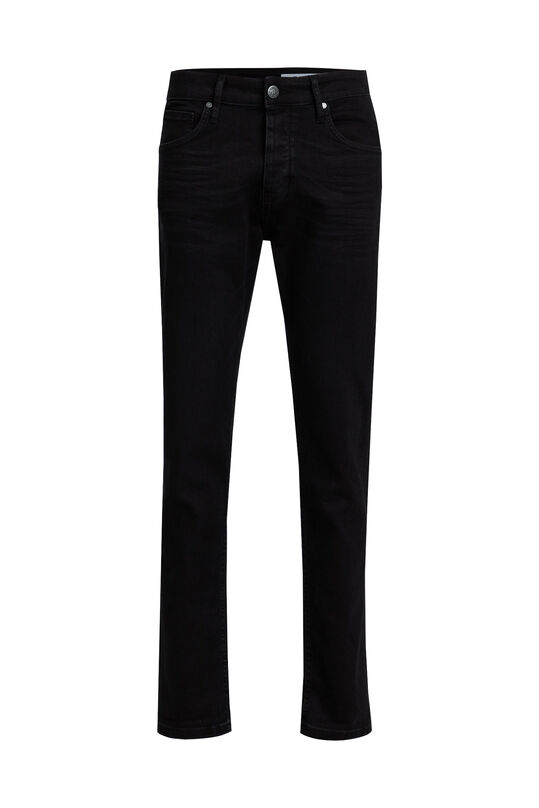 Jeans tapered fit super stretch homme Noir