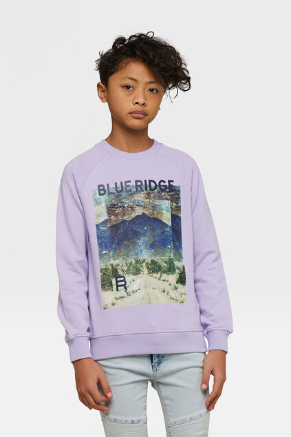 Sweat-shirt Blue Ridge garçon Lavande