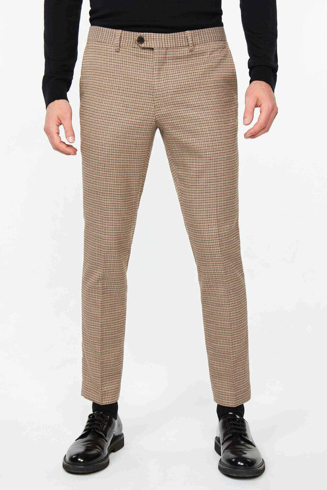 Pantalon slim tapered Ignance homme Multicolore