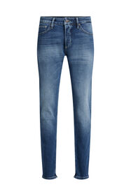 Jeans slim fit stretch confort homme_Jeans slim fit stretch confort homme, Bleu foncé