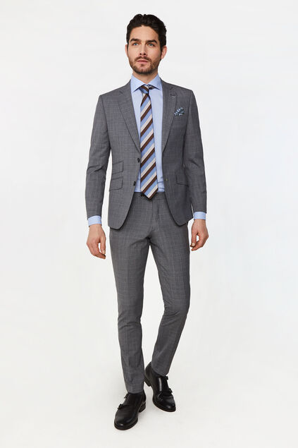 Costume slim fit à motif Vicchio