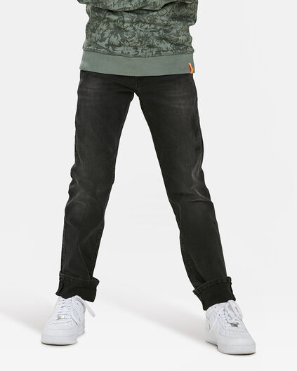JEANS REGULAR FIT POWER STRETCH GARÇON Gris foncé