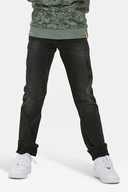 JEANS REGULAR FIT SUPER STRETCH GARÇON Gris foncé