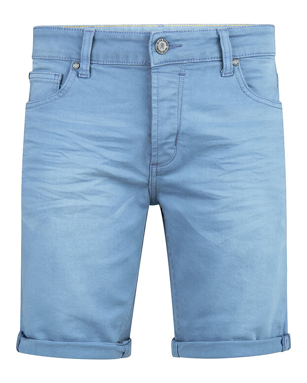 SHORT TAPERED REGULAR FIT HOMME Bleu