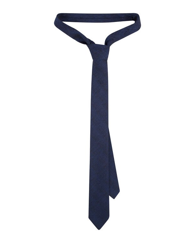 CRAVATE STRUCTURE HOMME Bleu marine