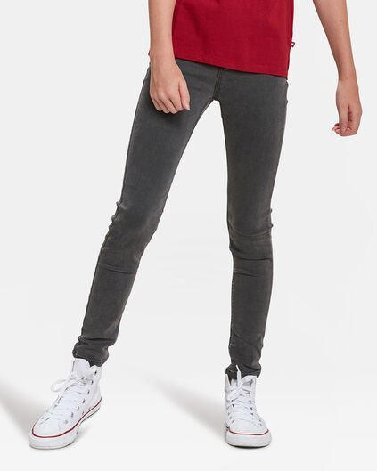 JEGGING SUPER SKINNY POWER STRETCH FEMME Gris foncé
