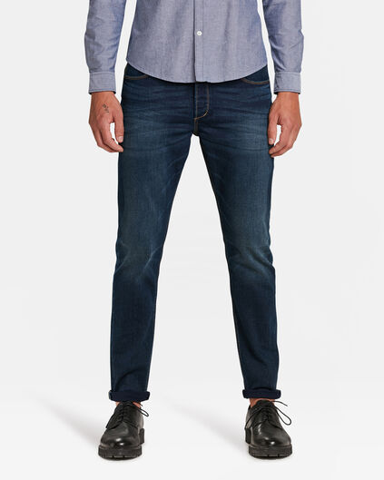 JEANS SKINNY TAPERED HOMME Indigo