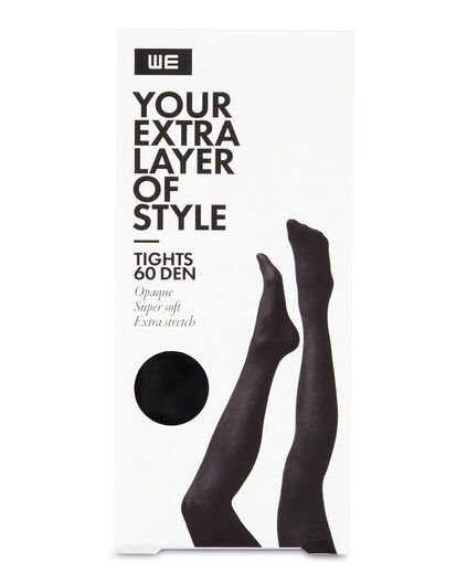 COLLANT SUPER SOFT EXTRA STRETCH 60 DEN FEMME Noir