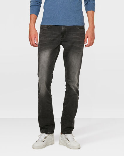 JOG DENIM REGULAR STRAIGHT HOMME Noir