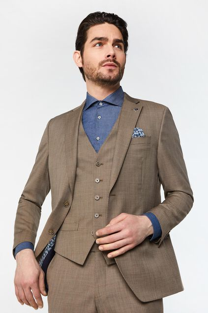 Blazer regular fit à carreaux Alfio homme Imprimé