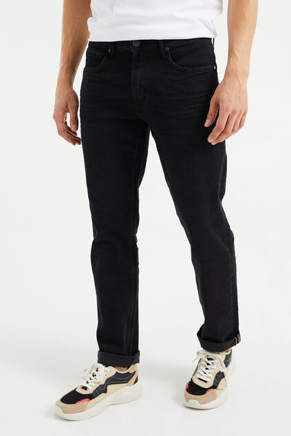 Jeans relaxed fit super stretch homme Anthracite