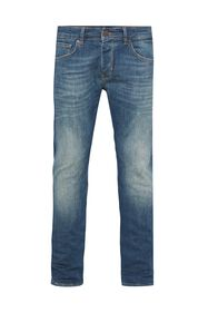 Jeans tapered fit super stretch homme_Jeans tapered fit super stretch homme, Bleu