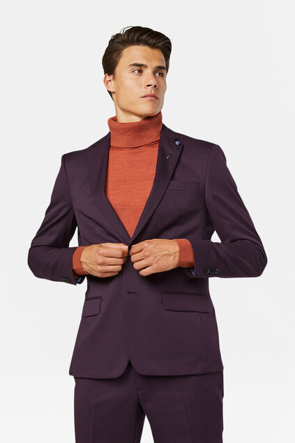 Blazer regular fit Tom homme Violet profond