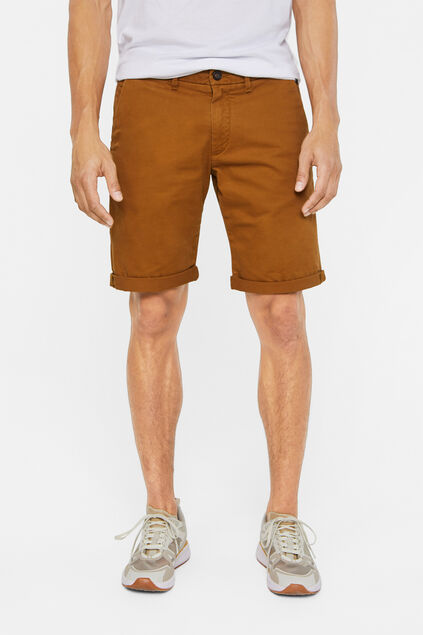 Short chino slim fit homme Brun
