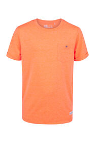 T-SHIRT ONE POCKET_T-SHIRT ONE POCKET, Orange