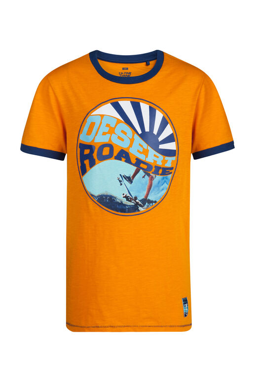 T-shirt Desert Roadie garçon Orange