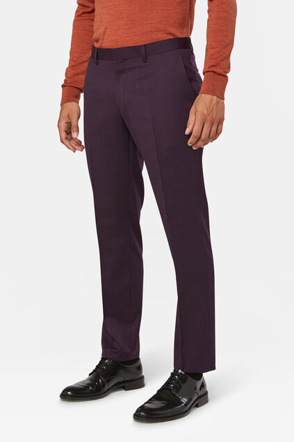 Pantalon regular fit Tom homme Violet profond