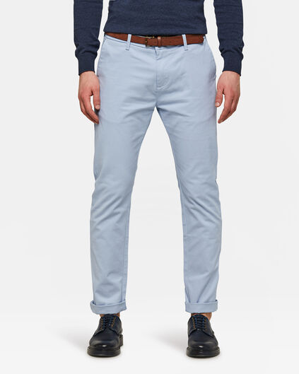 CHINO SKINNY FIT HOMME Bleu glace