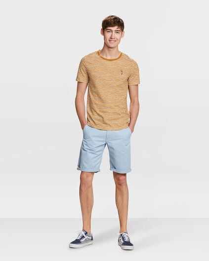 SHORT REGULAR FIT HOMME Bleu eclair