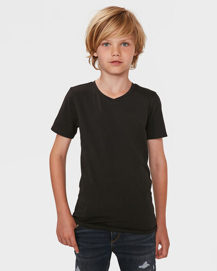 T-SHIRT V-NECK Noir