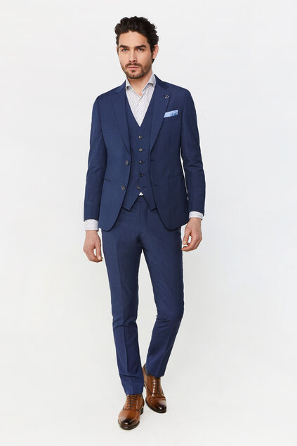 Costume slim fit à carreaux Amadeo homme