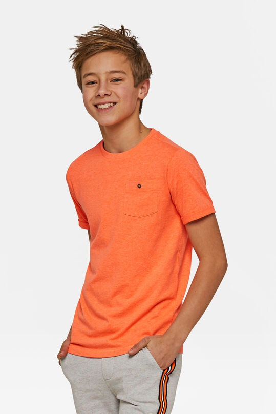 T-shirt fluo garçon Orange