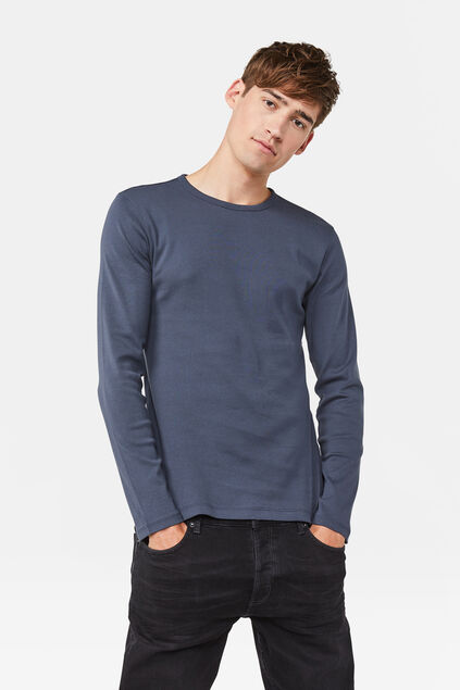 SHIRT FUNDAMENTAL Bleu gris