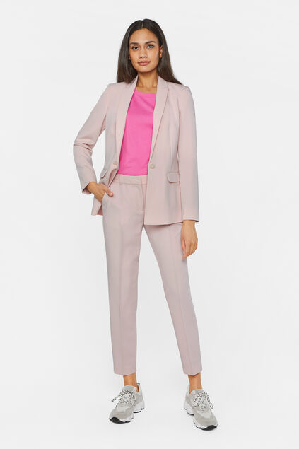 Pantalon slim fit femme Rose clair
