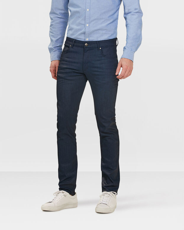 JEANS SKINNY TAPERED SUPER STRETCH HOMME Bleu