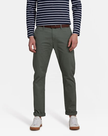 CHINO SKINNY FIT HOMME Vert clair