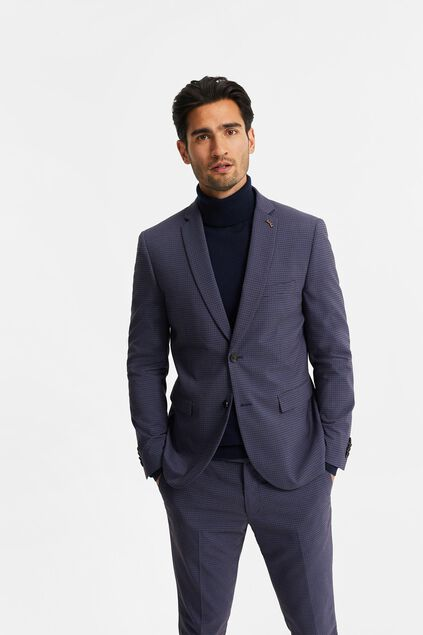 Blazer slim fit à carreaux Wallace homme Multicolore