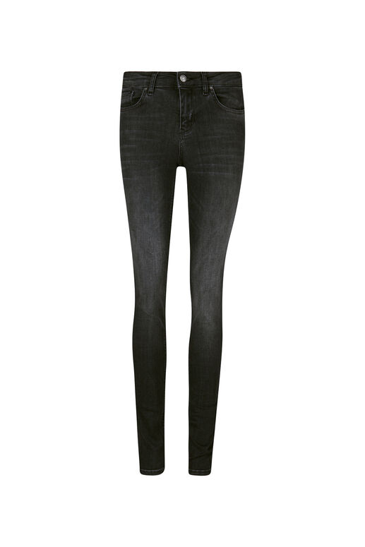 Jeans Medium Rise Super Skinny Super Stretch femme Bleu