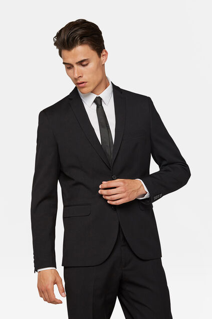 Blazer regular fit Dali homme Noir