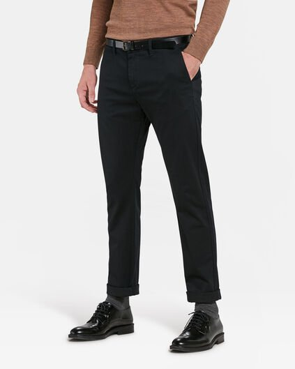 CHINO SKINNY FIT HOMME Noir