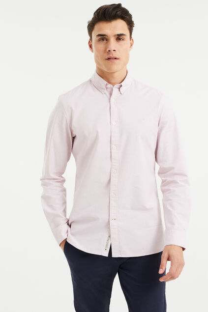 Chemise slim fit homme Rose clair