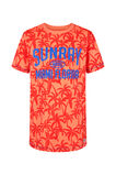 T-shirt à imprimé sunray garçon, Orange