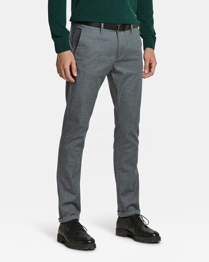 CHINO SKINNY FIT HOMME Gris