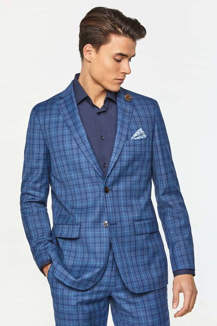 Blazer regular fit à carreaux Kelso homme Imprimé