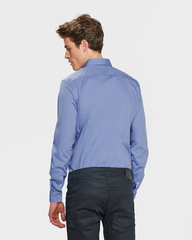 CHEMISE STRETCH HOMME Lavande