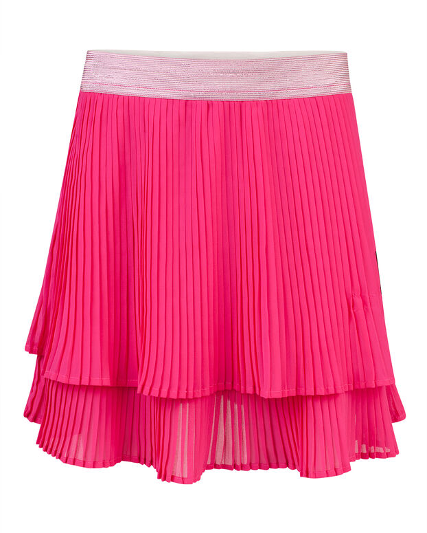 JUPE PLEATED FILLE Rose