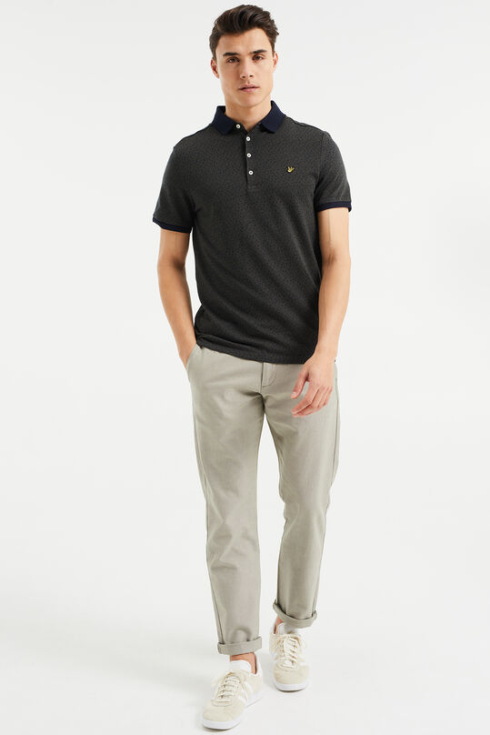 Chino Oxford avec stretch homme Vert olive